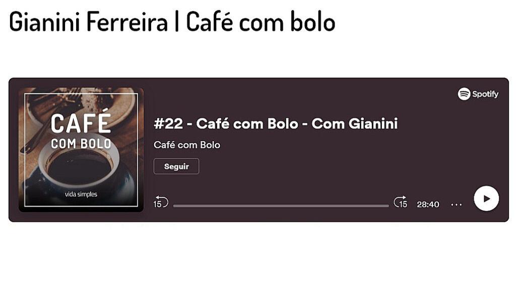 café com bolo, poadcast