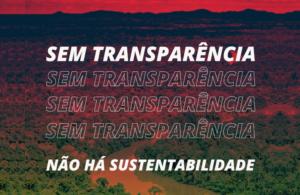 sem transparência, não há sustentabilidade